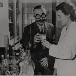 Dr. Barbanera in laboratorio