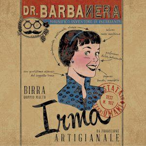 Birra artigianale stile Dubbel del Birrificio dr. Barbanera