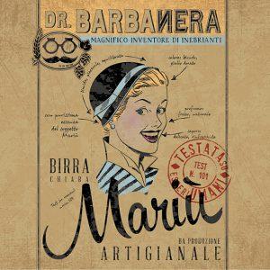 Birra artigianale stile Belgian Ale del Birrificio dr. Barbanera