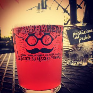 pinta bicchiere birra Dr. Barbanera