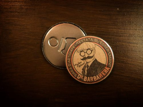 Apribottiglie magnetico Dr. Barbanera